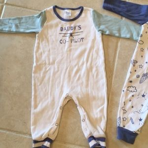 91c8969841f tesa babe One Pieces - Daddy s co- pilot   flying objects rompers